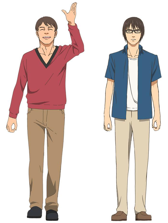 Wave, Listen to Me! (Nami yo Kiite Kure) anime - personajes