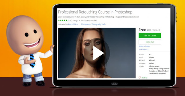 [100% Off] Professional Retouching Course in Photoshop| Worth 200$