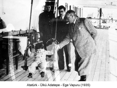 Atatürk Ülkü Adatepe 1935 Fotoğraf