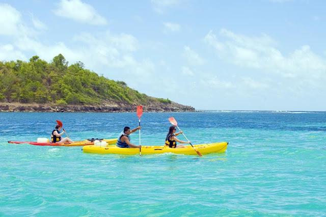 Excursion en Kayak à Sainte Anne en Martinique