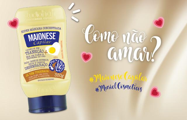 Muriel Cosmeticos, Maionese Capilar, Muriel