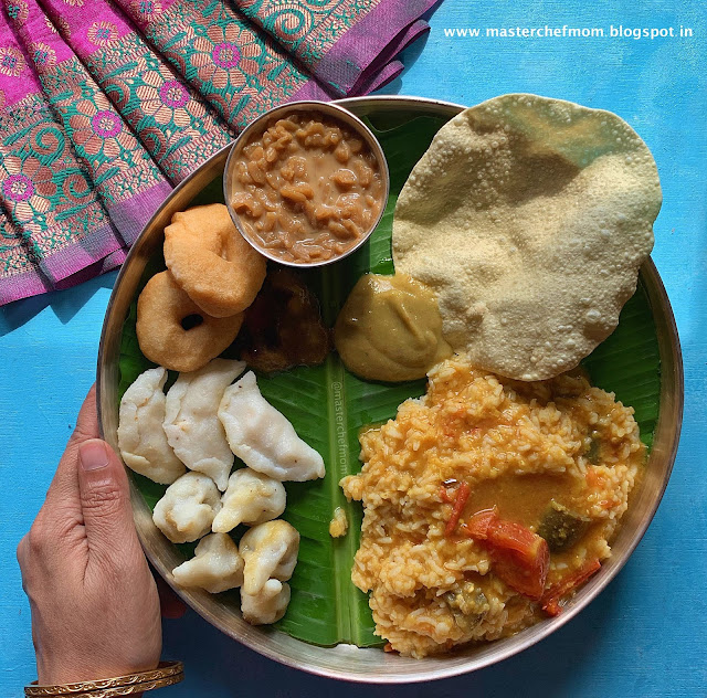 The Vara Mahalakshmi Thali 2019 |