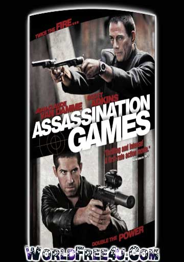 Poster Of Assassination Games (2011) In Hindi English Dual Audio 300MB Compressed Small Size Pc Movie Free Download Only At worldfree4u.com