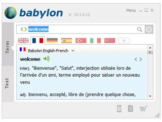 BABYLON TRANSLATION AND DICTIONARY TOOL Cover Photo