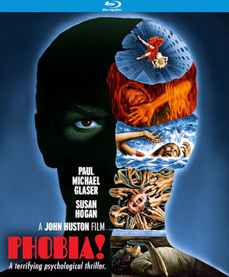 Blu-ray cover art for Kino Lorber's Special Edition of PHOBIA!