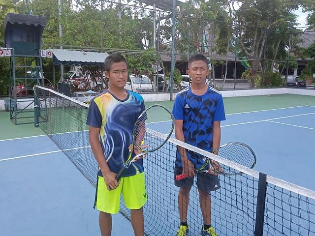 Libas Unggulan 4, Siswa SMP Negeri 12 Malang Melaju ke Final Kejurnas Tenis Yunior Piala Bupati Tulungagung