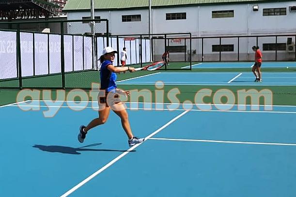 Tenis SEA Games 2019: Ganyang Petenis Malaysia, Priska Melaju ke Perempat Final