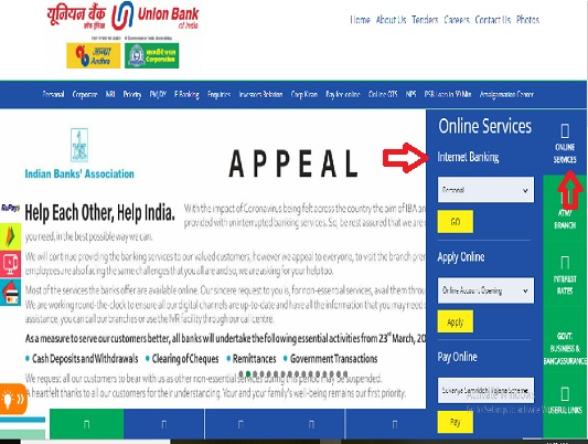 How to activate Internet Banking in Corporation Bank?