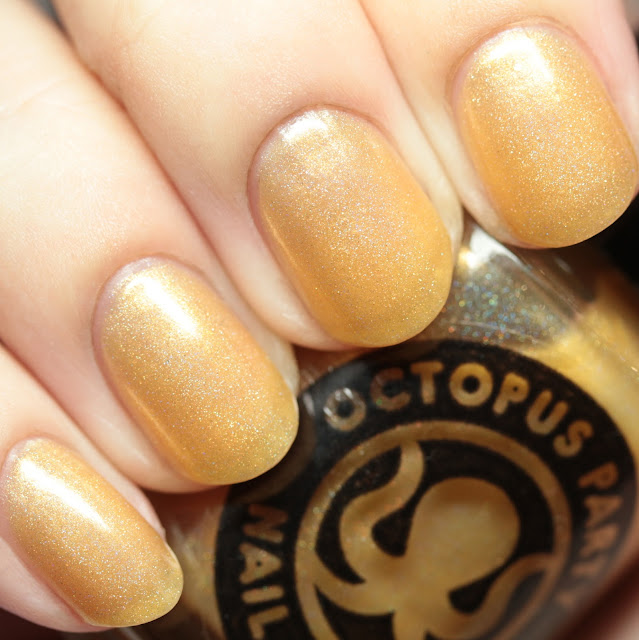 Octopus Party Nail Lacquer The Midas Touch