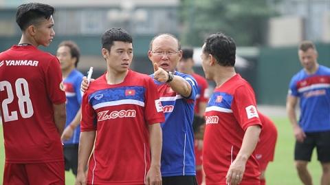 HLV Park Hang Seo nhận được sự đồng thuận cao trong việc lựa chọn cầu thủ