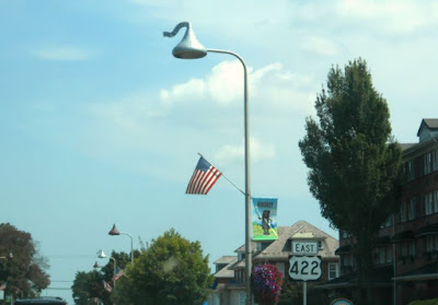 Hershey Kiss Street Lights in Hershey Pennsylvania