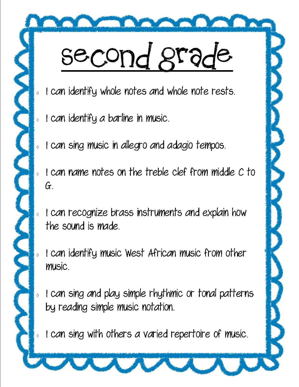 Second Third Grades