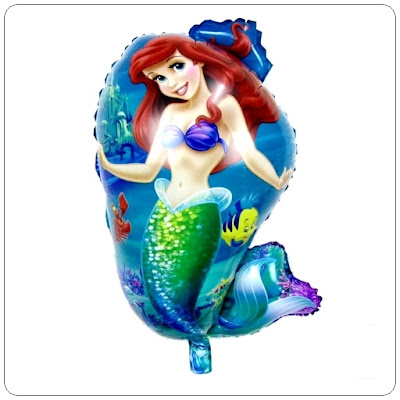 Foil Foil Karakter Mermaid Baru