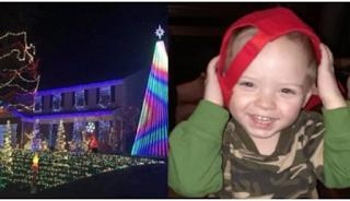 Μία ολόκληρη πόλη γιορτάζει πρόωρα τα Χριστούγεννα για χάρη άρρωστου παιδιού