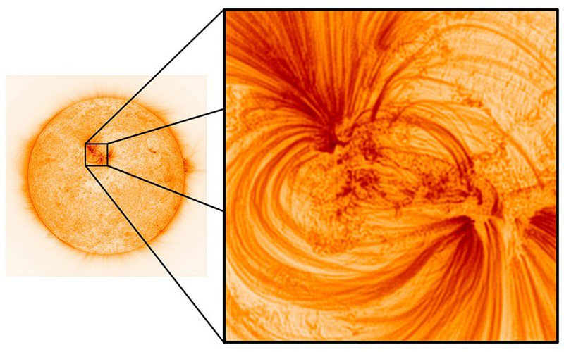 Universidad inglesa publica espectaculares fotos del Sol con la resolución más alta tomada