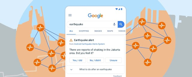 Herramienta oficial de Google permitirá que los celulares con Android se conviertan en detectores de sismos