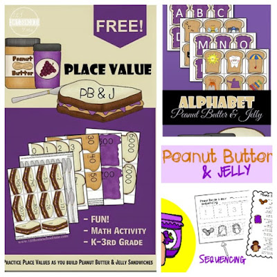 peanut butter and jelly educational activities