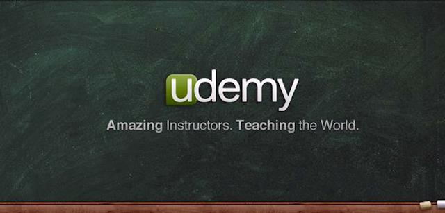 شعار موقع udemy