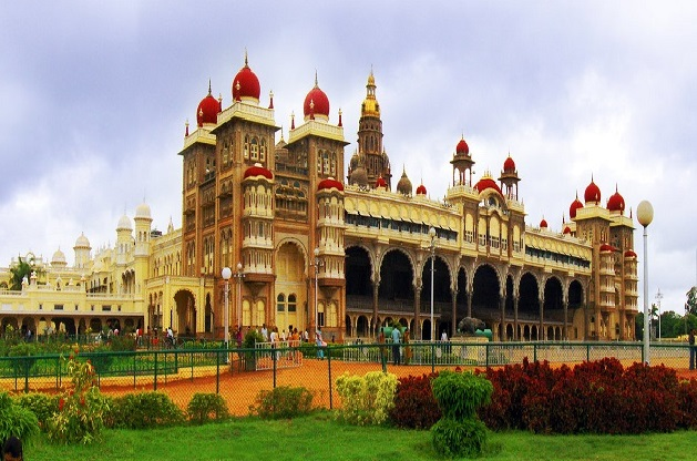 Mysore Palace, Mysore  IMAGES, GIF, ANIMATED GIF, WALLPAPER, STICKER FOR WHATSAPP & FACEBOOK