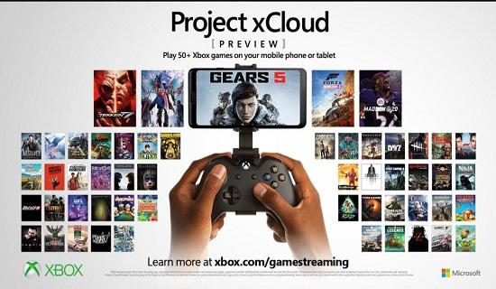 Microsoft xCloud  50 game play