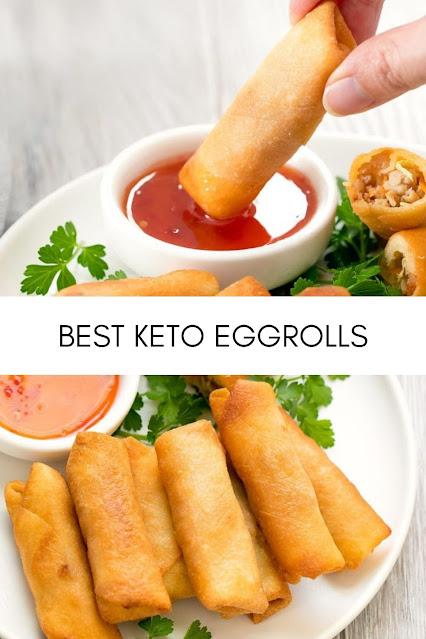 BEST KETO EGGROLLS