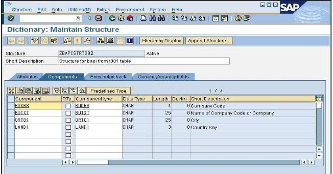 How to Create BAPI in SAP ABAP