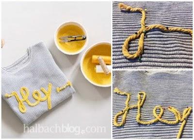 Cómo hacer letras con alambre o introducido en cordoncillo hueco