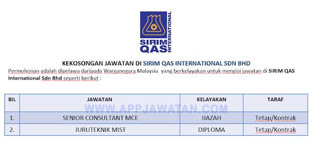 SIRIM QAS International Sdn Bhd.