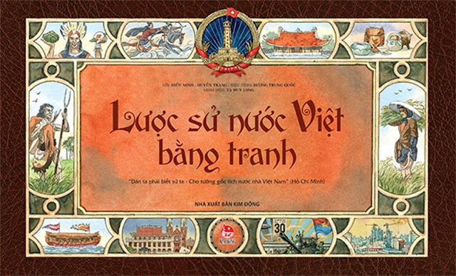 Sách: Lược Sử Nước Việt Bằng Tranh (Tái Bản 2018)