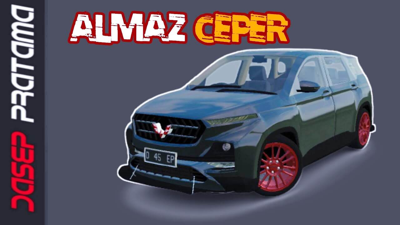 Mod Bussid Wuling Almaz Ceper