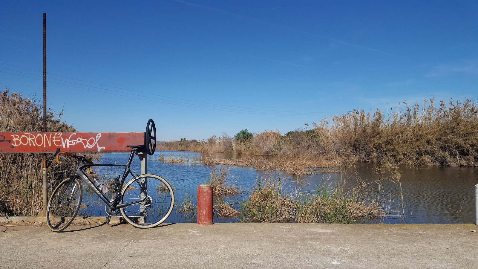 Cycling in the province of Valencia, Spain