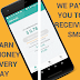 Be paid receiving sms