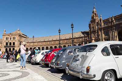 Seat 600 en Sevilla