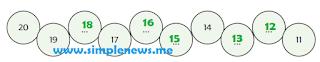 urutan bilangan dari 20 ke 11 www.simplenews.me