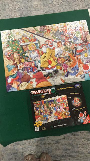 Christmas Wasjig Puzzle