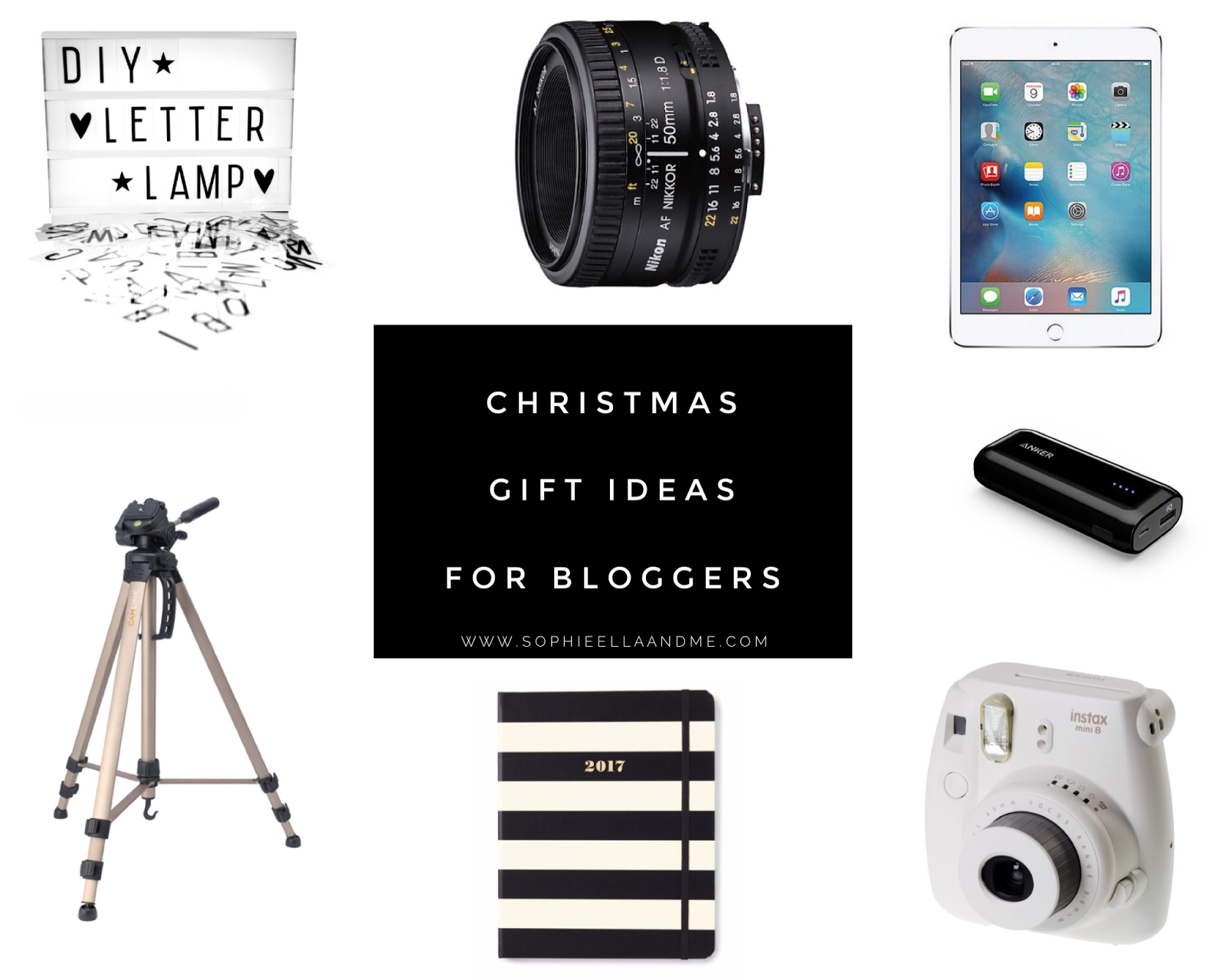 christmas gift ideas for bloggers