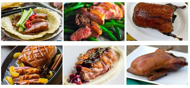 What is the flavor of duck meat?