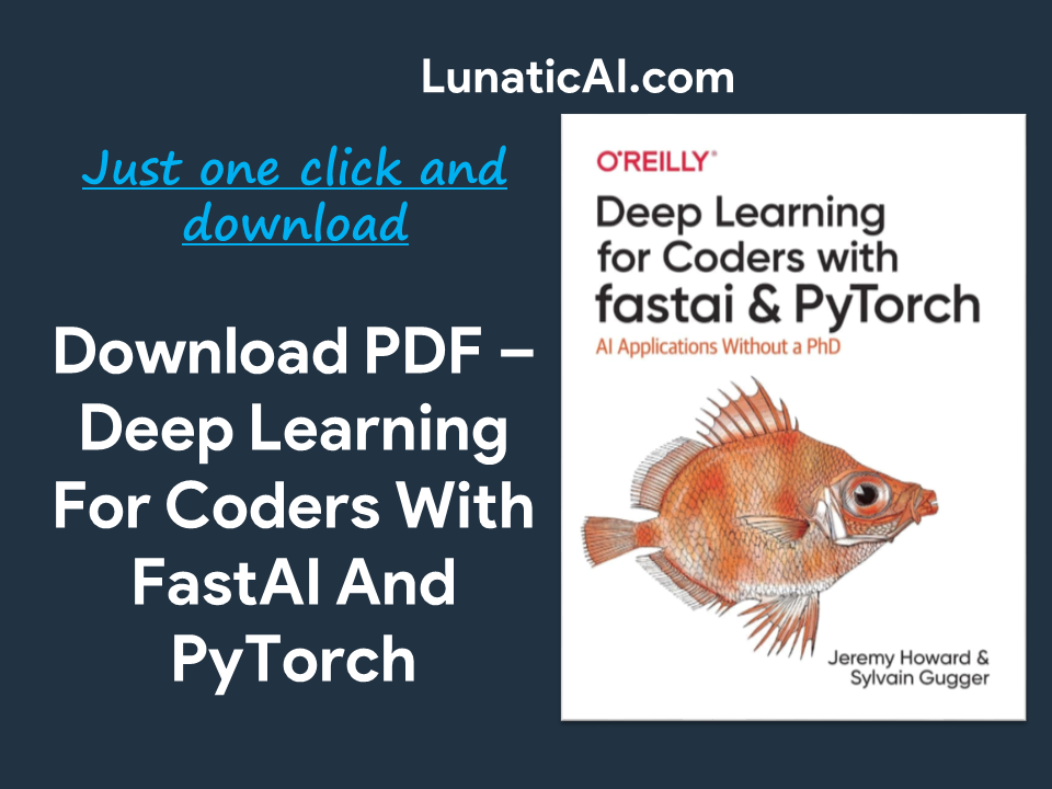 Deep Learning for Coders with fastai and PyTorch PDF Free Download
