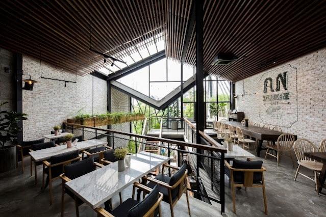 Xu hướng thiết kế nhà hàng, quán cafe sang chảnh, hiện đại