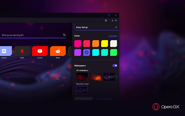 تحميل متصفح Opera GX الجديد ،أول متصفح خاص بالألعاب !