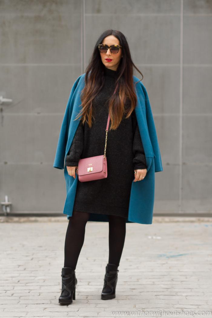 Blogger influencer embarazada de Valencia con ideas para vestir de zara