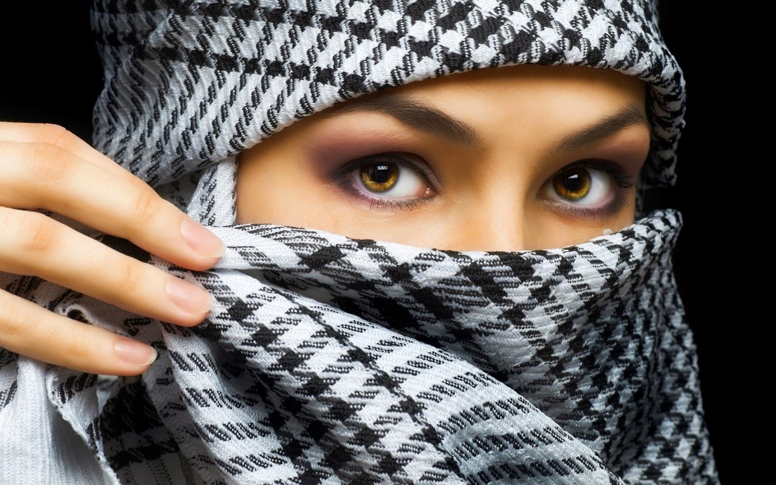 Veil Beautiful Girls Hd Wallpepars-Naqab Girls Hd -6379