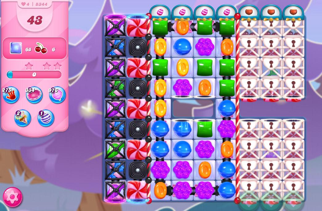Candy Crush Saga level 8344