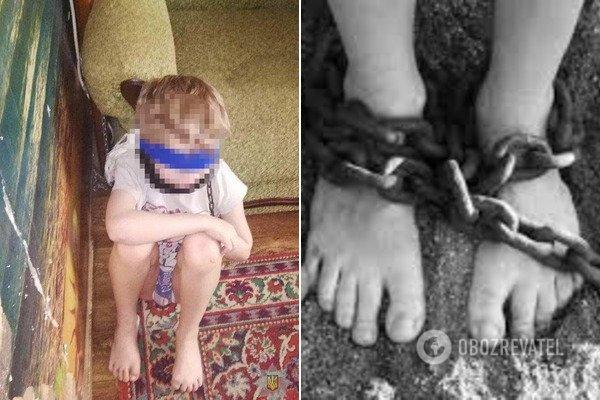Держала на цепи и била палкой: появились жуткие подробности издевательств над детьми в Днепре