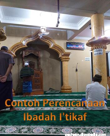 Gambar Posting Contoh Perencanaan Ibadah I'tikaf