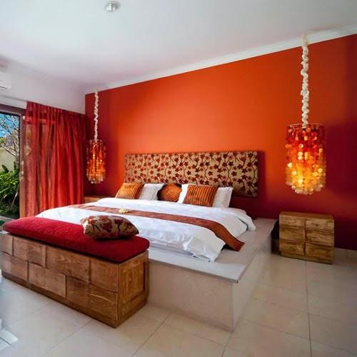 38 SMALL ORANGE THEMED BEDROOM DESIGNS ~ Interior Design ...