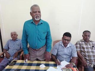 சம்மாந்துறையில் இடம்பெற்ற அம்பாறை மாவட்ட ஊடகவியலாளர்கள் சம்மேளனத்தின் கூட்டம்.