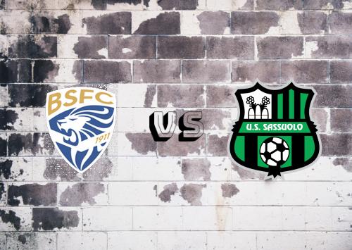 Brescia vs Sassuolo  Resumen