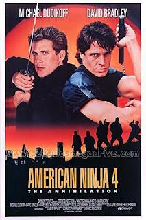 Ninja Americano 4 (1990) [Latino-Ingles] [Hazroah]