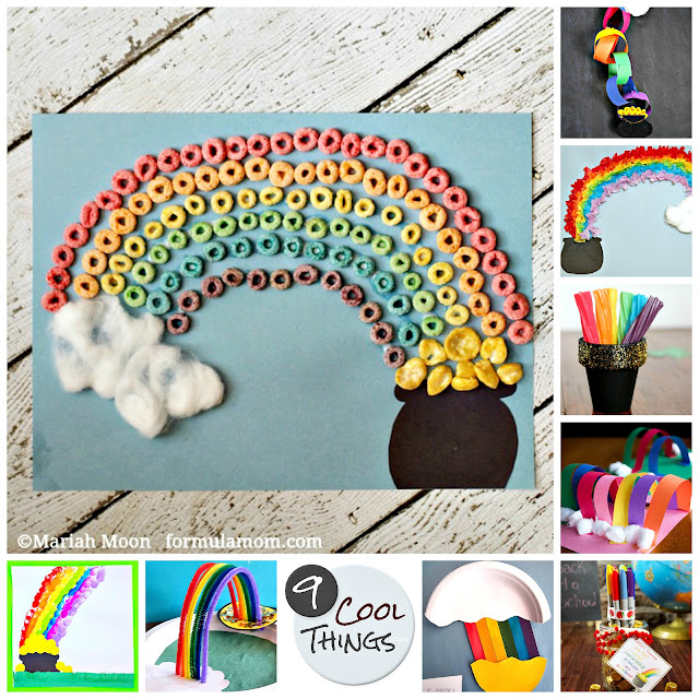 9 cool rainbow pot-o-gold St. Patrick's Day crafts for kids  |  9CoolThings.com